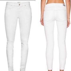 AGOLDE NEW Colette Malibu White Jeans 26 Skinny